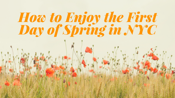 Enjoy the First Day of Spring