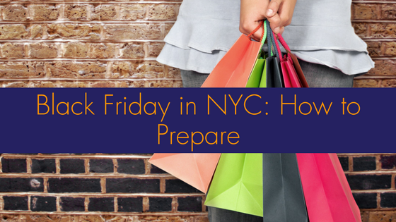 Black Friday in NYC: How to Prepare
