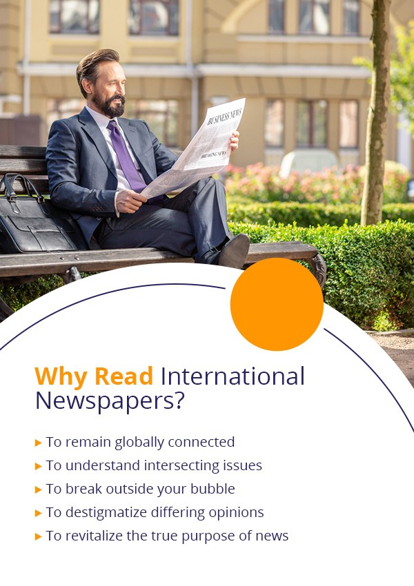 why read the international newspaper