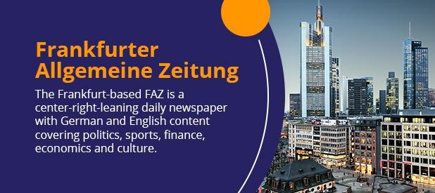 international newspaper -franfurter Allgemeine